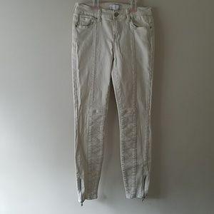 Kendall and Kylie Moto Mid rise jeans
